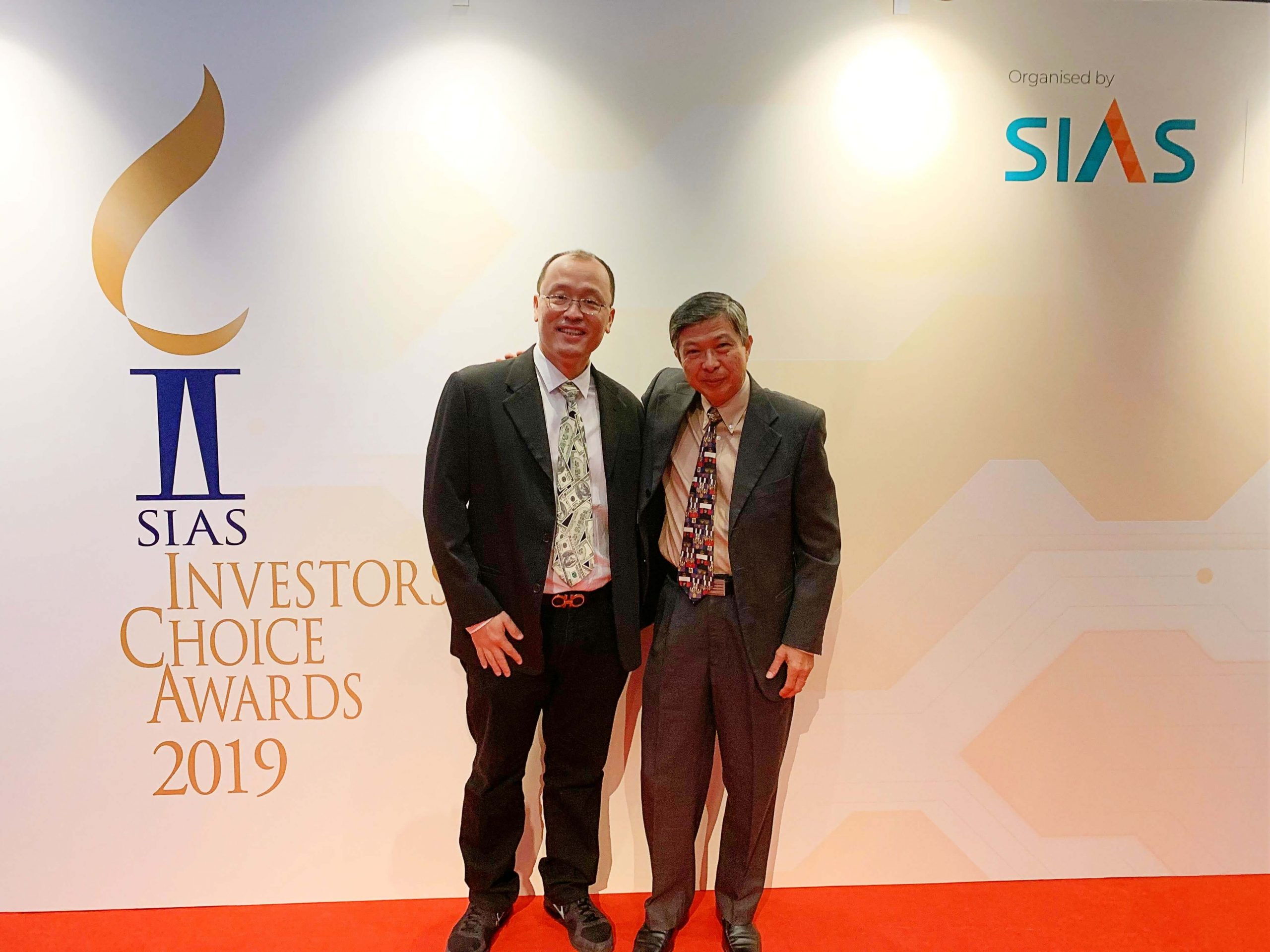 Loo at SIAS Investors Choice Awards 2019